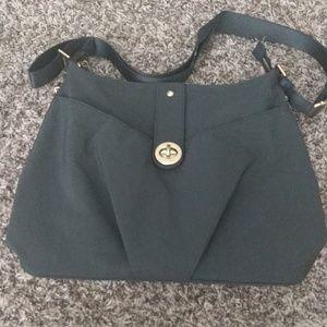 Baggallini Grey Shoulder Bag